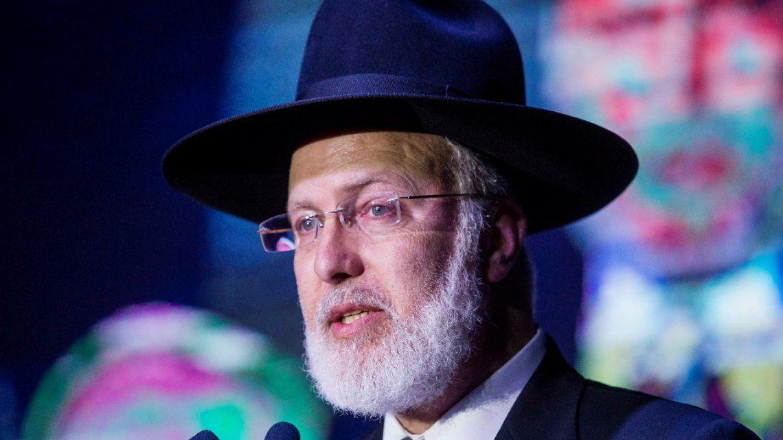 Asaltan al Gran Rabino Gabriel Davidovich y temen que sea un ataque antisemita