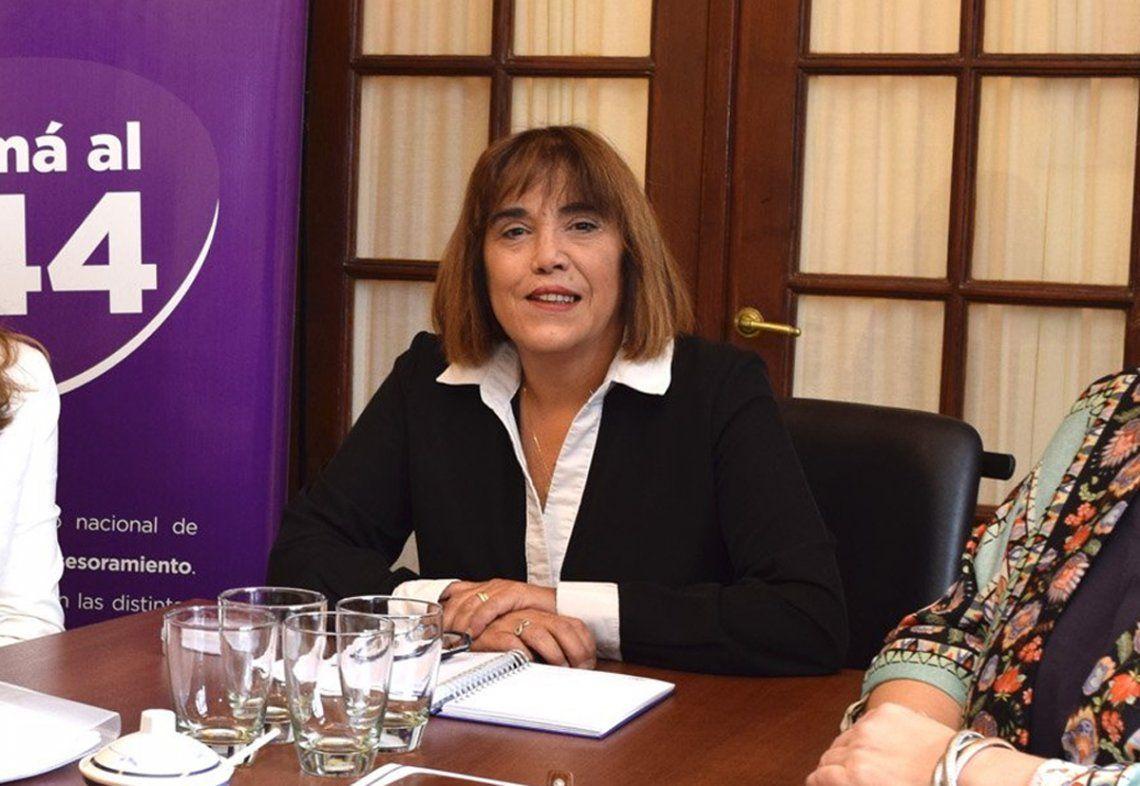 #NiUnaMenos   Fabiana Túñez: Buscamos fortalecer a las mujeres para que denuncien más