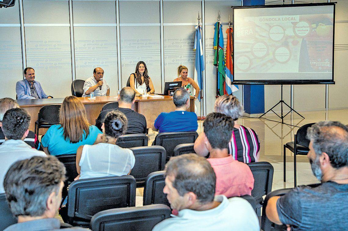Berazategui: el programa Góndola Local suma adherentes