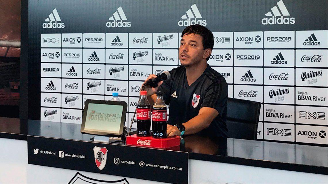 Gallardo: Lo de River en Madrid superó e hizo olvidar todo, nadie le va a sacar esa alegría al hincha