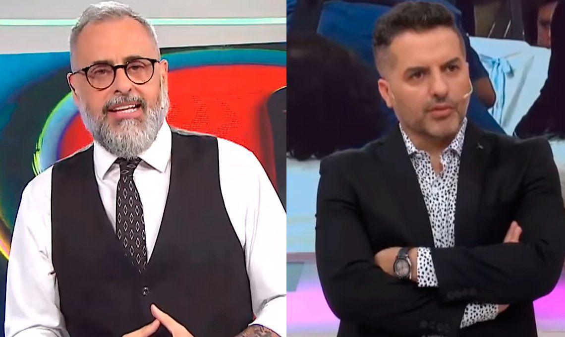 Cruce de frases picantes entre Ángel De Brito y Jorge Rial
