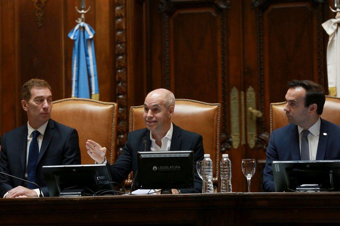 Rodríguez Larreta inauguró las sesiones ordinarias de la Legislatura porteña