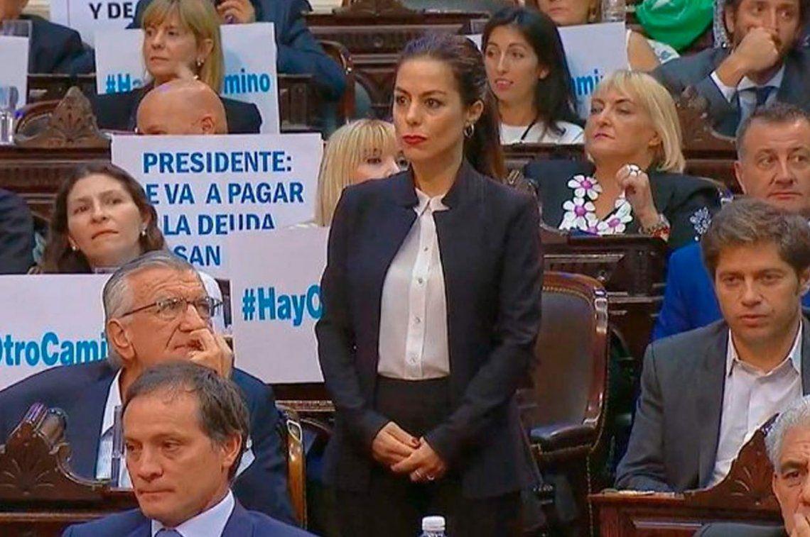 Quién es Joanna Picetti, la mujer echada por Michetti del Congreso que había sido expulsada de Cambiemos