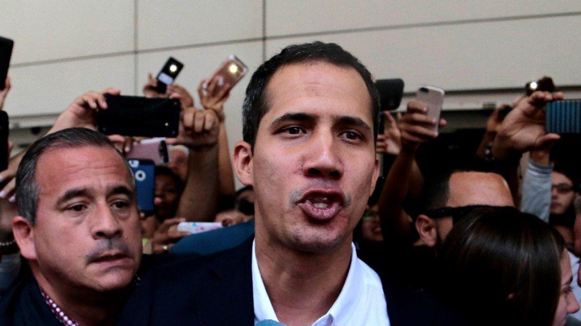 Juan Guaidó: la intervención militar es la última opción
