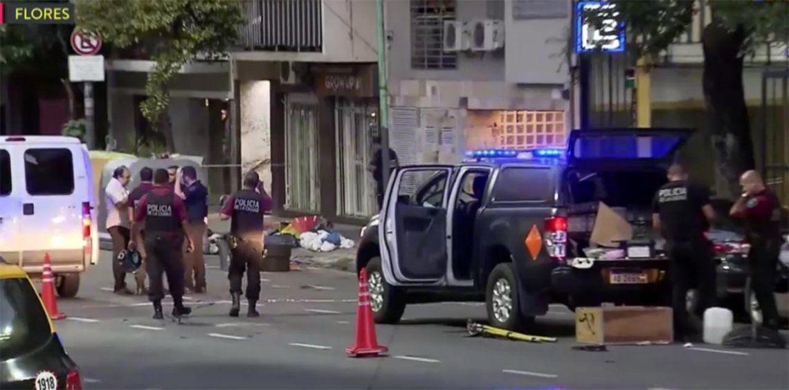 Pánico en Flores: encontraron 6 granadas de mano en un contenedor de basura