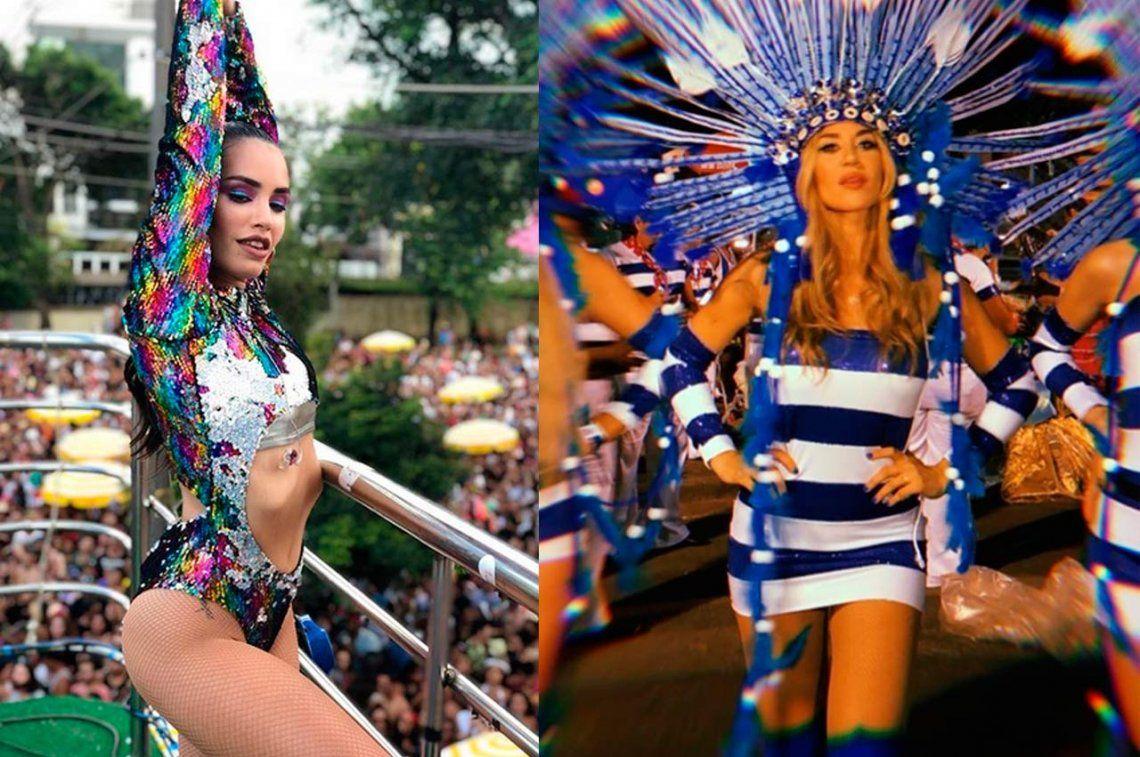 Lali Espósito y Jimena Barón: diosas de carnaval
