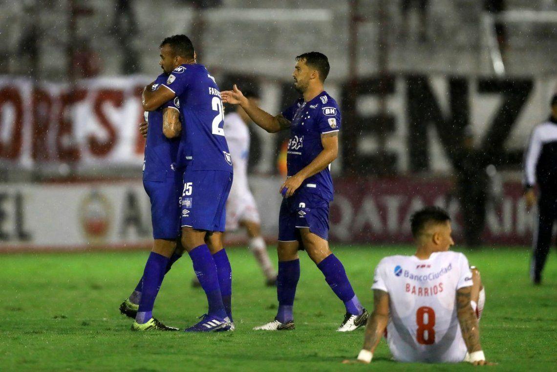 Sin premio: Huracán luchó pero cayó ante el oficio de Cruzeiro