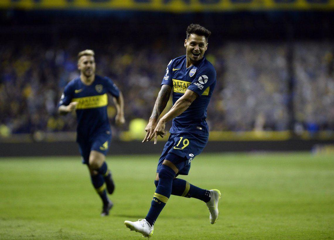 Boca hizo pesar la jerarquía que lo separa de San Lorenzo y lo goleó