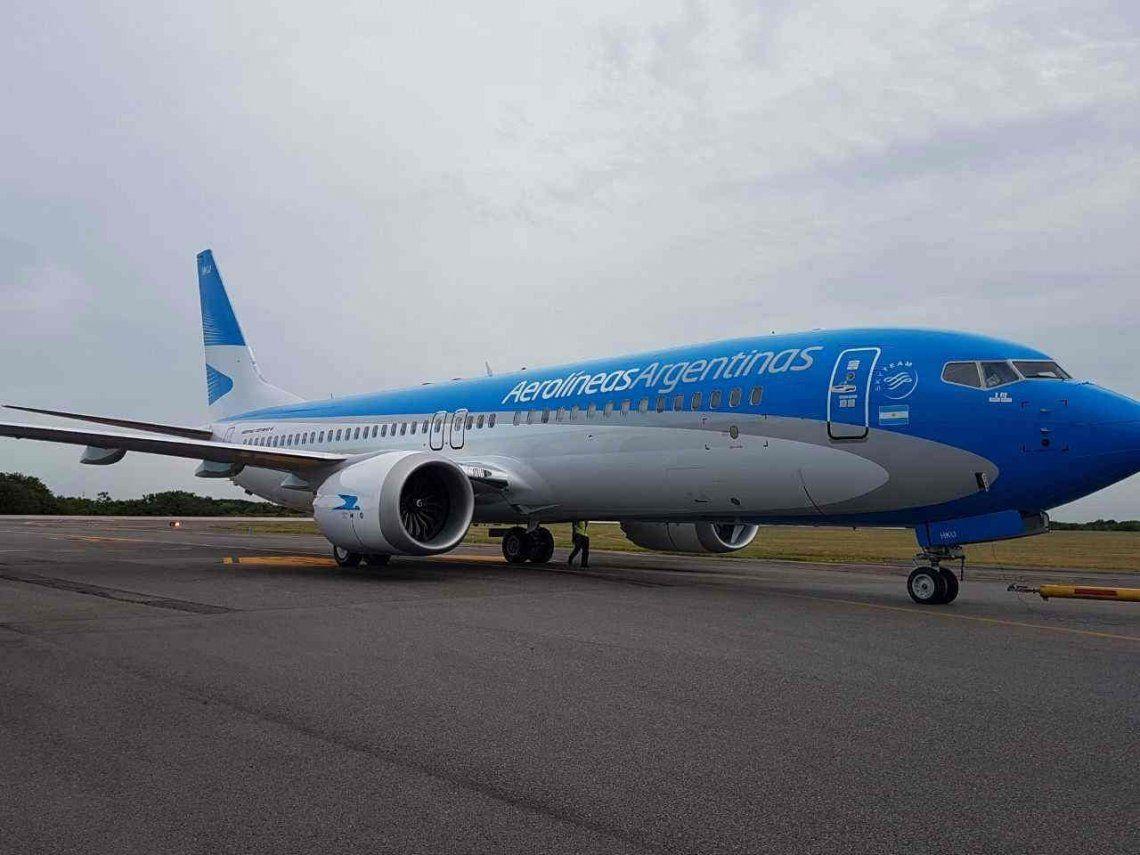 Aerolíneas suspende los vuelos de cinco aviones Boeing 737 MAX 8