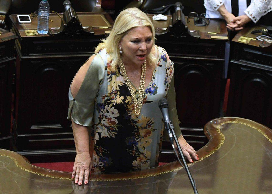 Elisa Carrió insiste con el narcotráfico en Córdoba