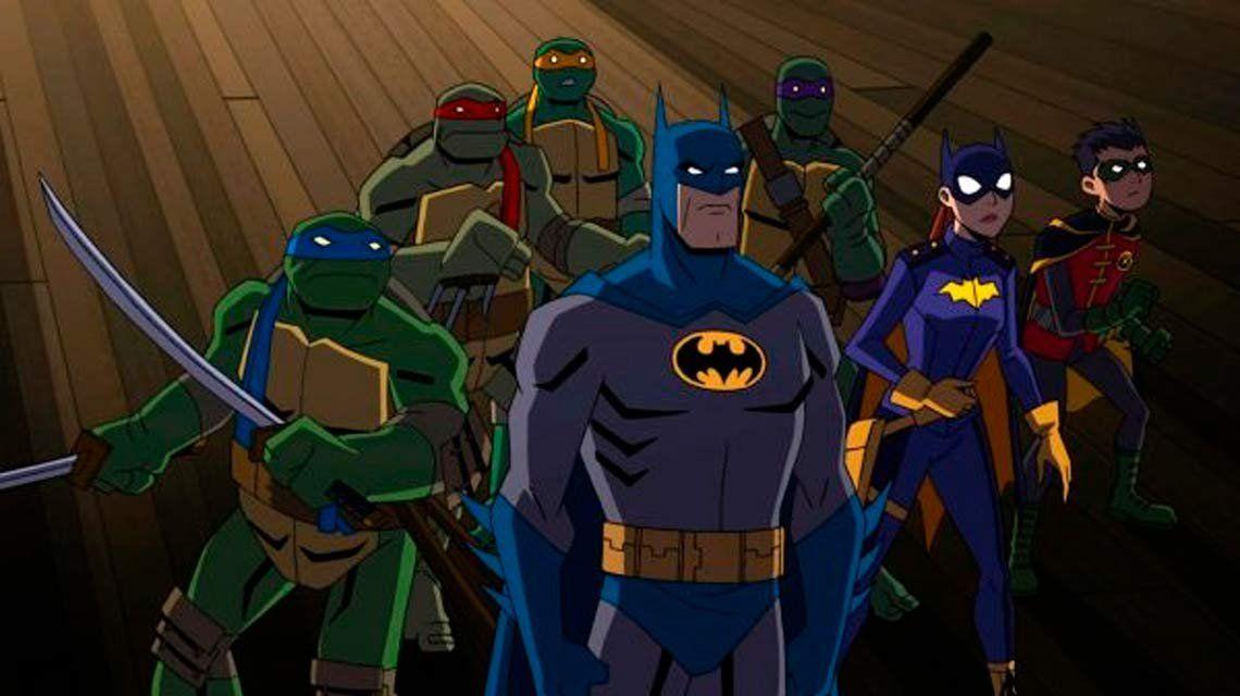 Éramos pocos y... Batman se enfrenta a las Tortugas Ninja