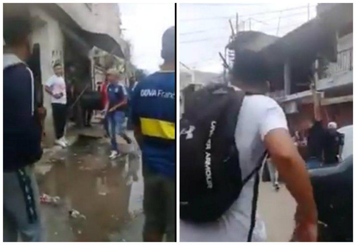 Villa Zavaleta: Despidieron con tiros al aire al delincuente muerto tras el ataque a Crescenti