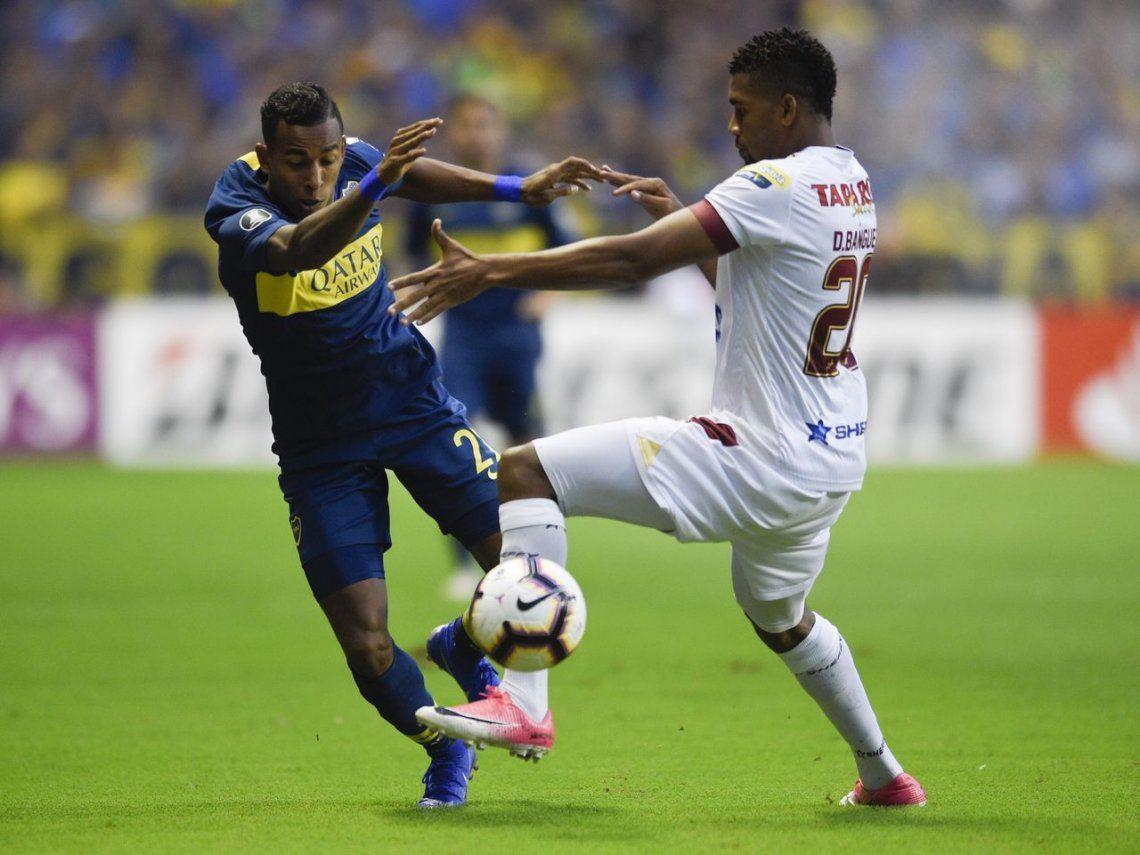 Boca-Deportes Tolima, por la Copa Libertadores 2019: el Xeneize se despertó en el segundo tiempo y goleó al equipo colombiano
