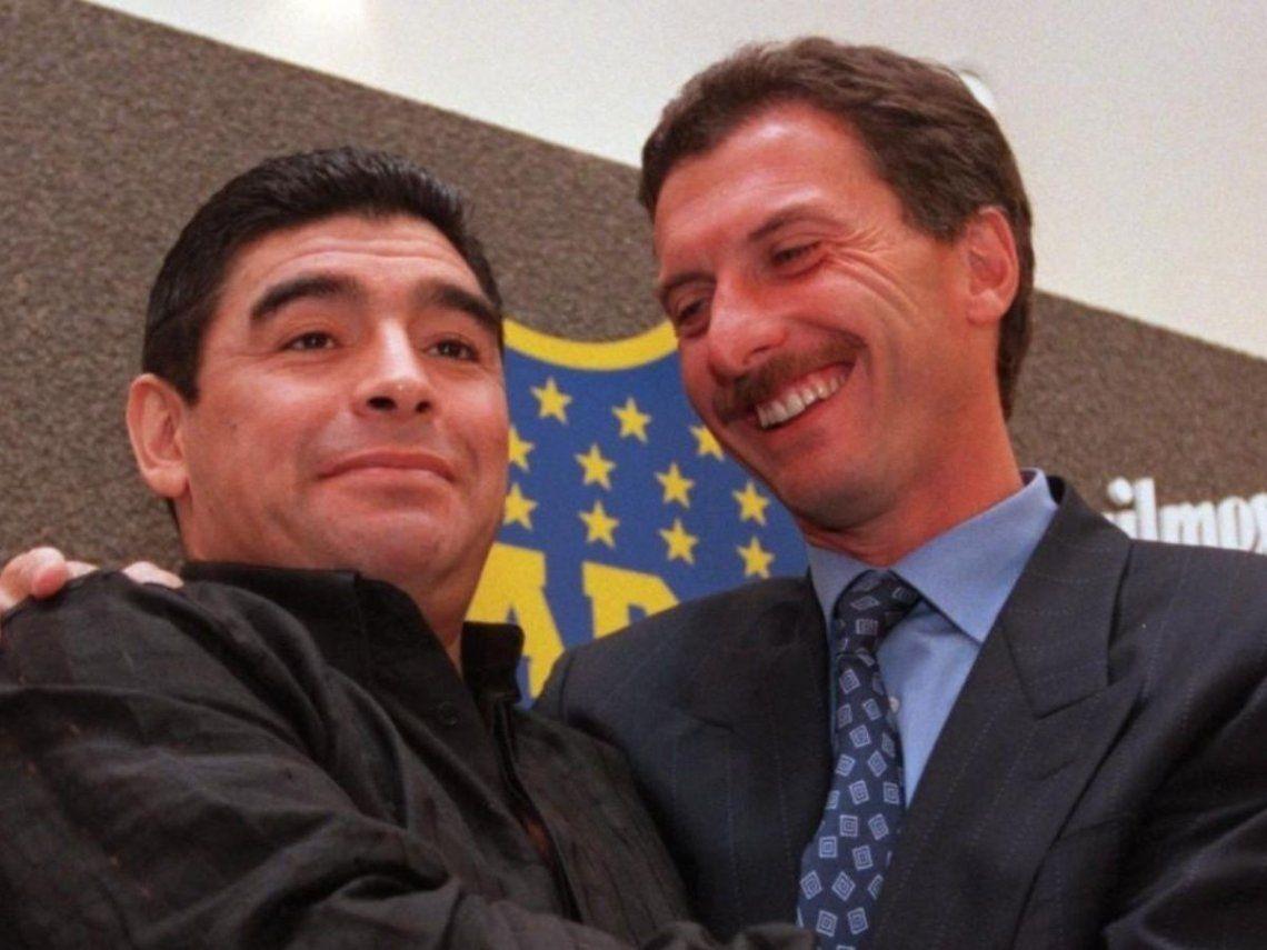 Diego Maradona y Mauricio Macri, una relación imposible