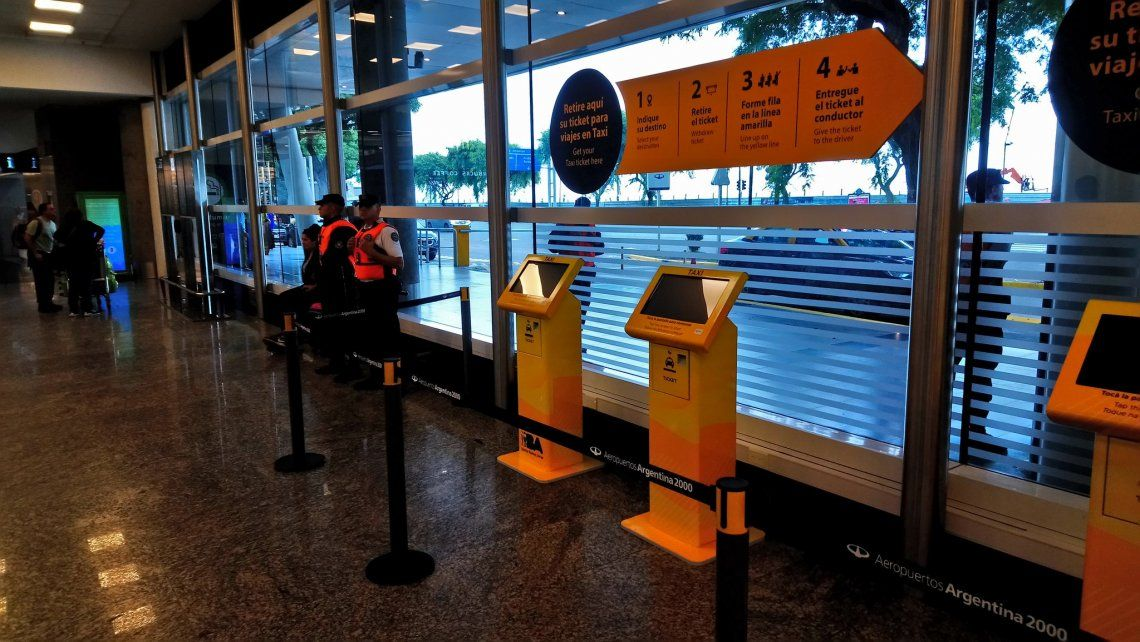 Comenzó en Aeroparque el sistema de precios prefijados en taxis y se extenderá a otras terminales