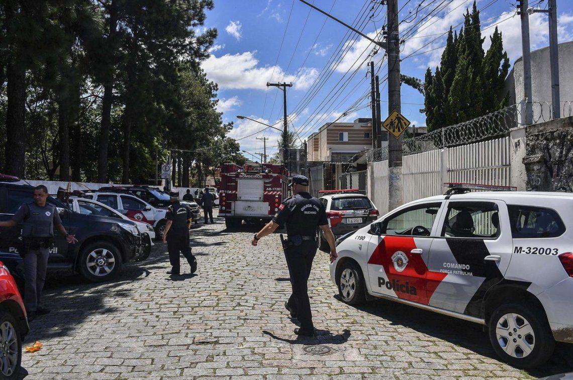 Las imágenes más impactantes del tiroteo en la escuela de San Pablo
