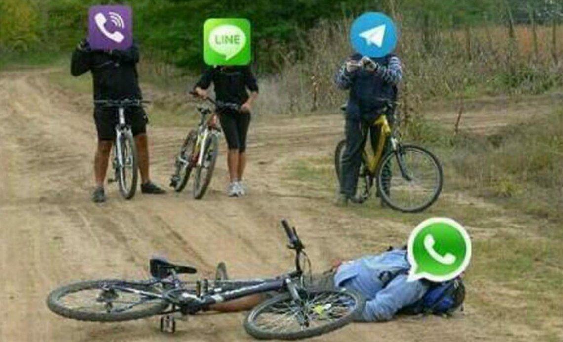 WhatsApp, al igual que Facebook e Instagram, funciona con limitaciones
