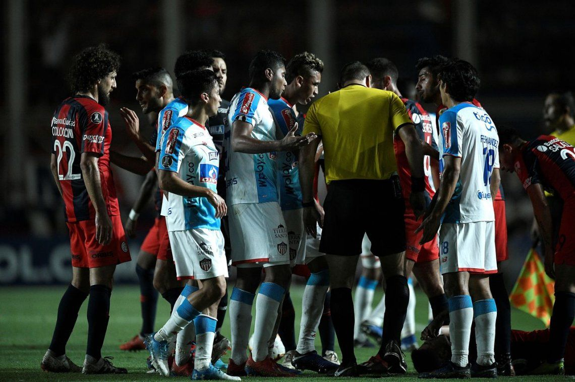 Román Martínez le dio a San Lorenzo su primera victoria en la era Almirón ante Junior por Copa Libertadores
