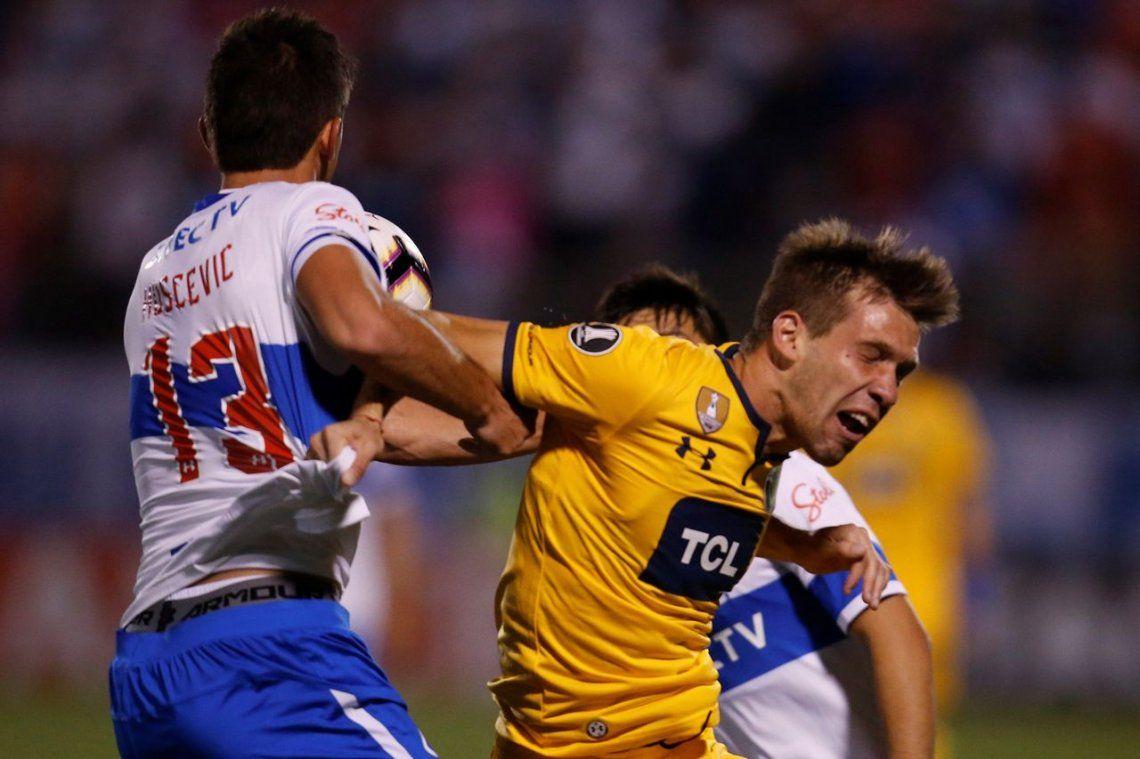 Rosario Central perdió sobre el final con la Universidad Católica por Copa Libertadores