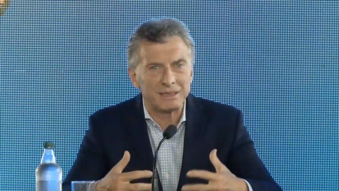 Macri: En Córdoba hay dos dirigentes que no se pusieron de acuerdo, es algo que no queríamos