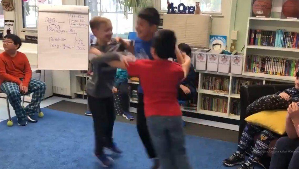 #Triangledance: el nuevo reto viral para bailar con amigos