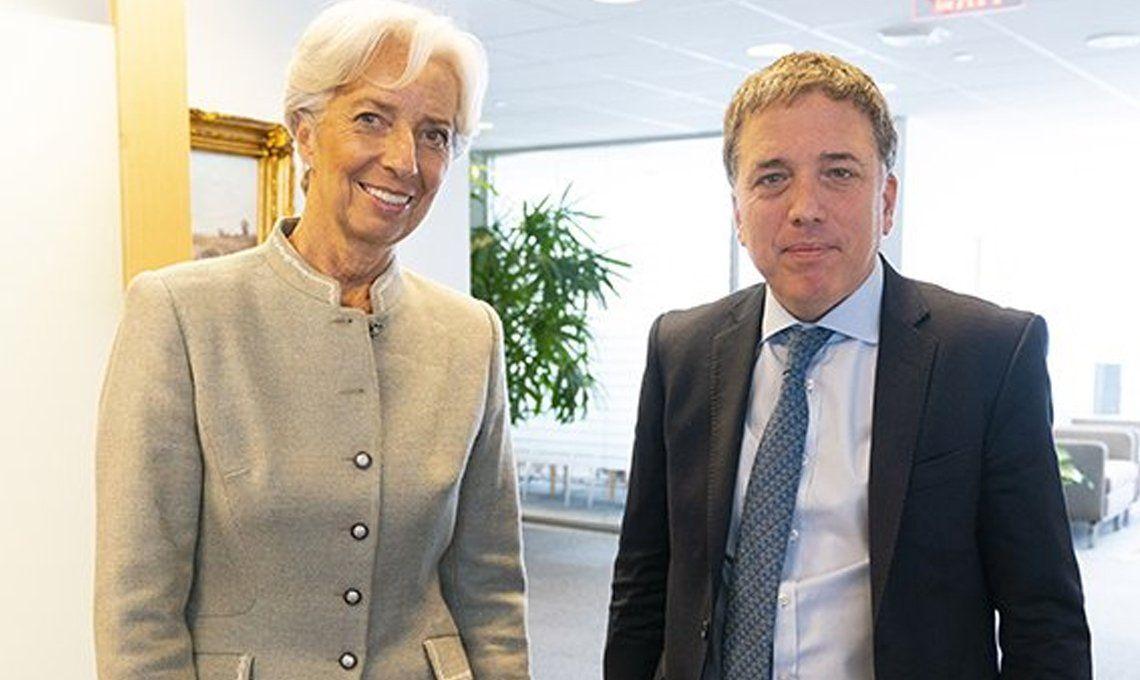 Lagarde se reunió con Dujovne en Japón y valoró los avances del programa económico argentino