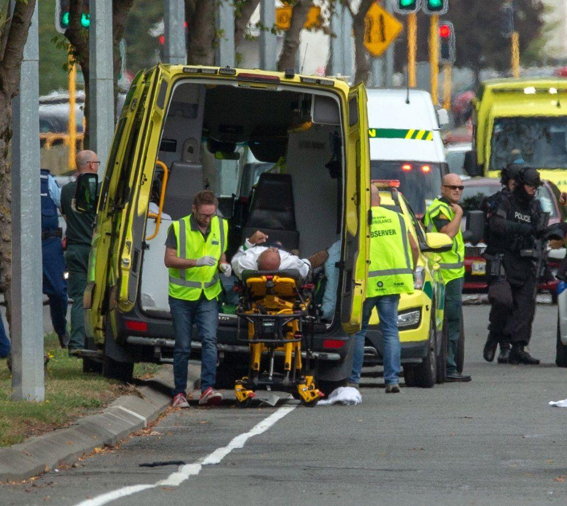 Las impactantes fotos de la masacre en Nueva Zelanda