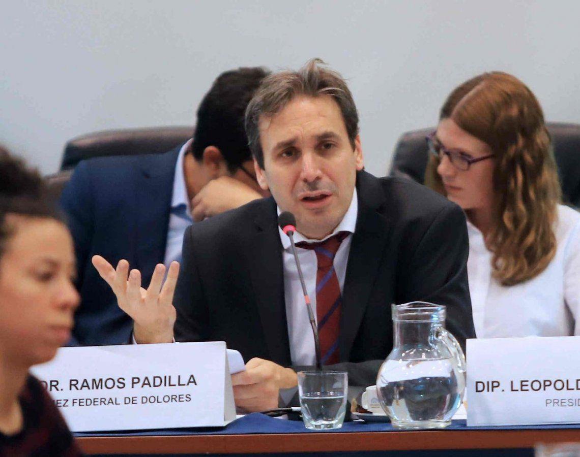 La comisión bicameral de inteligencia citó a Alejo Ramos Padilla