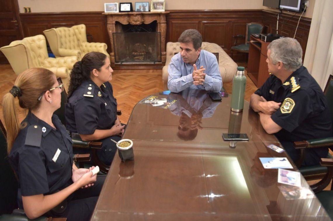 Ritondo recibió las dos policías que evitaron que lo agredieran en Arrecifes