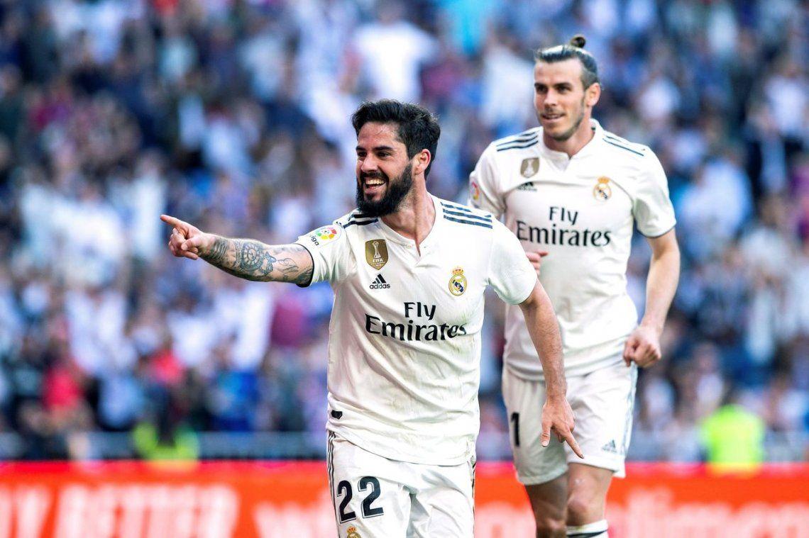 Isco y Bale le dan la victoria al Real Madrid en la vuelta de Zidane