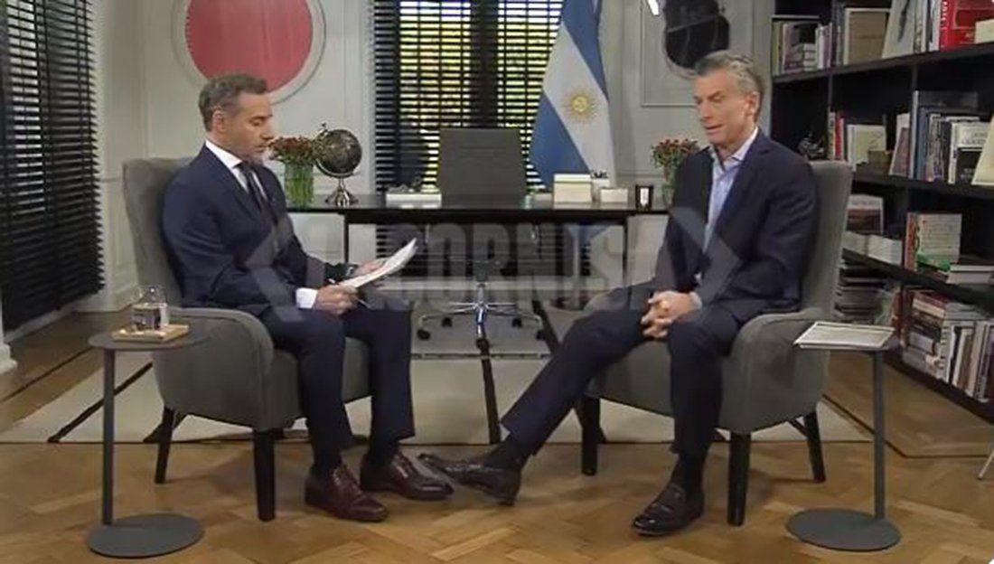 La entrevista a Macri: Lo de mi padre con el kirchnerismo era un delito y otras frases