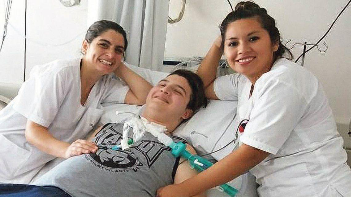 Recibió un disparo, quedó cuadrapléjico y necesita ayuda para un tratamiento en Cuba