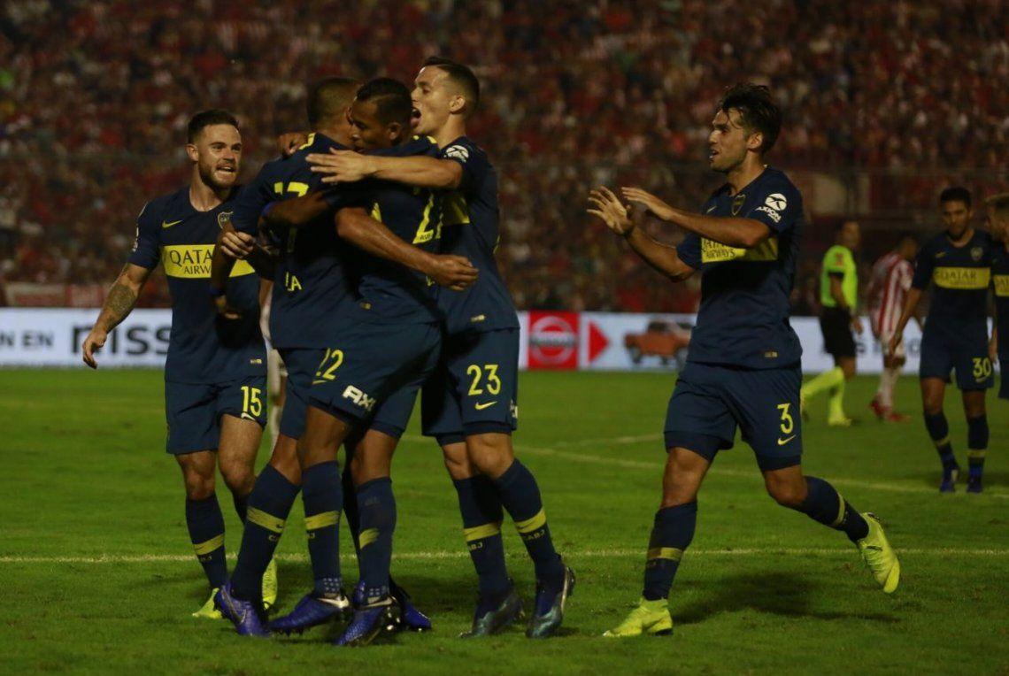 Boca goleó a San Martín de Tucumán, lo mandó al descenso y entró en la Libertadores 2020