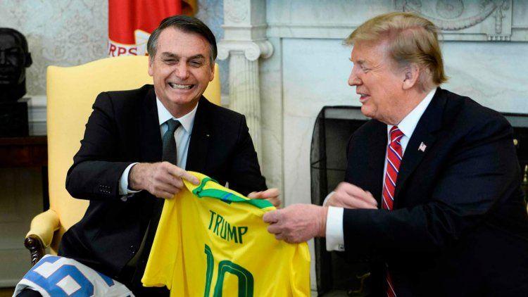 Trump y Bolsonaro celebraron el fin del socialismo