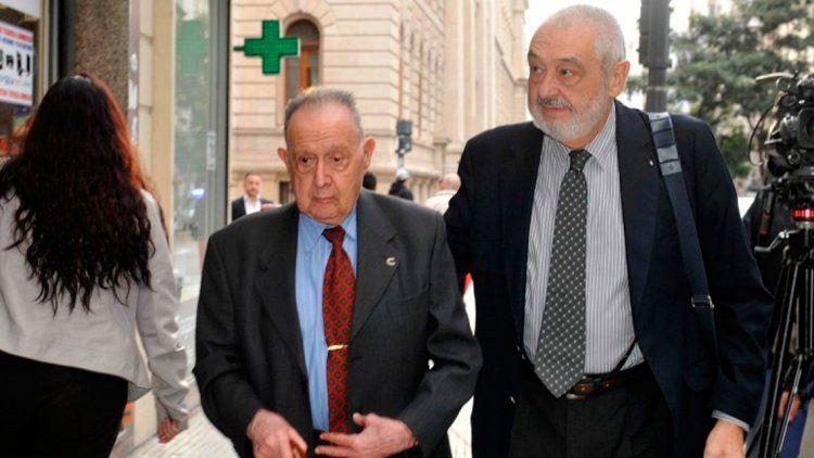 Los forenses Osvaldo Raffo y Julio Ravioli, coordinadores de la junta médica.