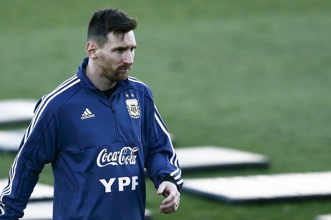 Con Messi, Argentina jugará contra Nicaragua antes de la Copa América