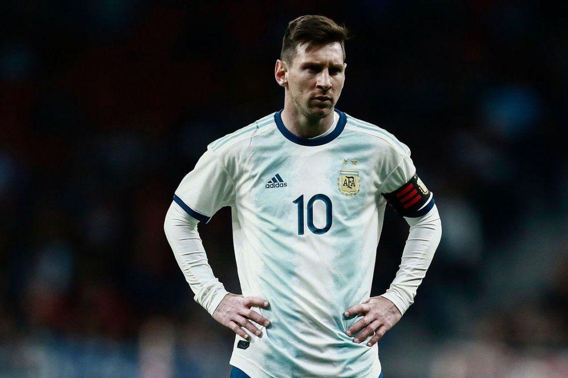 Messi: Con Argentina quiero intentarlo todas las veces posibles