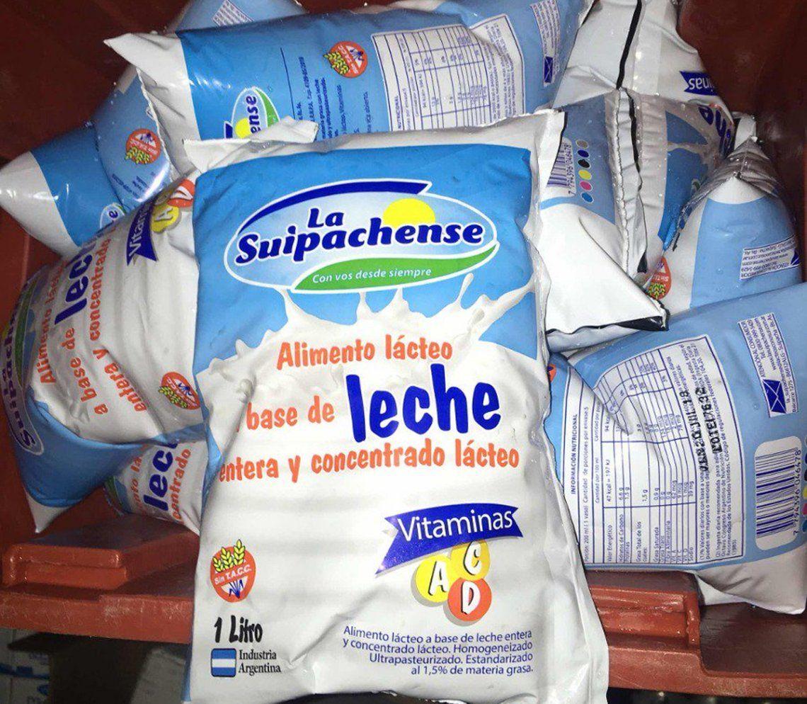 Suspendieron la comercialización del producto vendido como Alimento a base de leche
