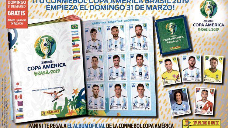 DIARIO POPULAR te regala el álbum y dos planchas de figuritas de la Copa América Brasil 2019
