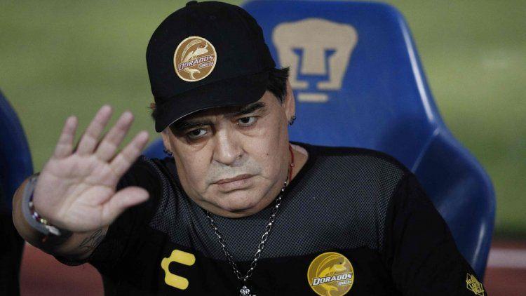 Maradona duro con la Selección: Este equipo no merece la camiseta