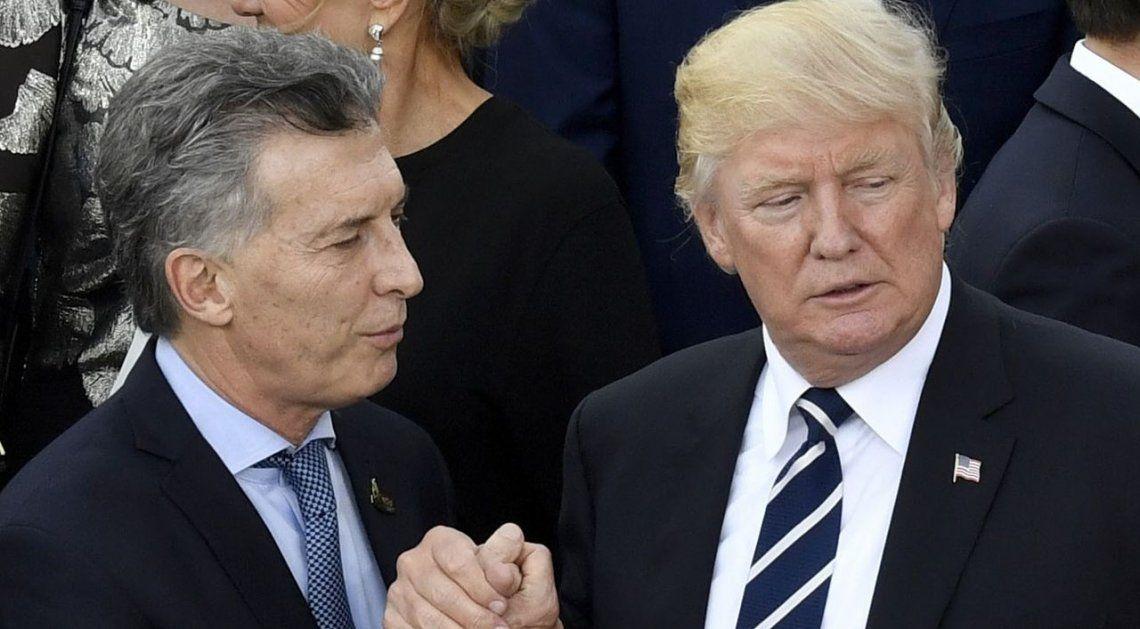 Donald Trump apoya las reformas estructurales de Mauricio Macri