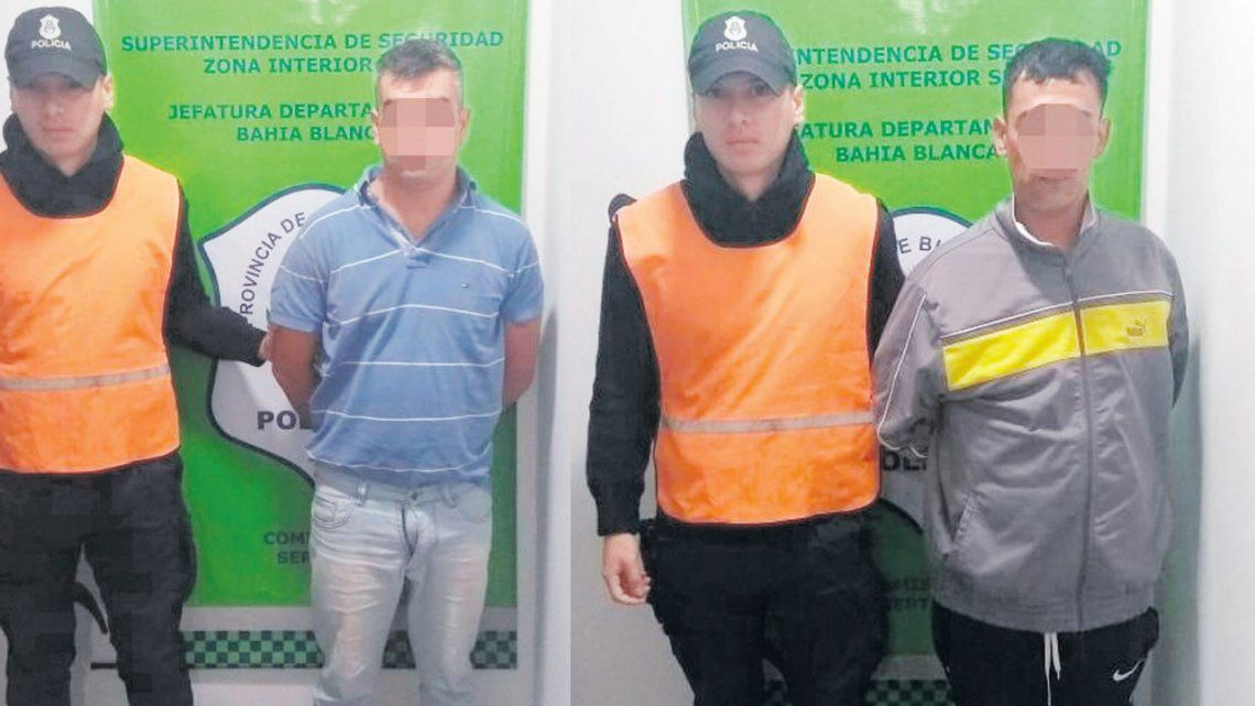 Bahía Blanca: cayeron dos hermanos por cometer entraderas