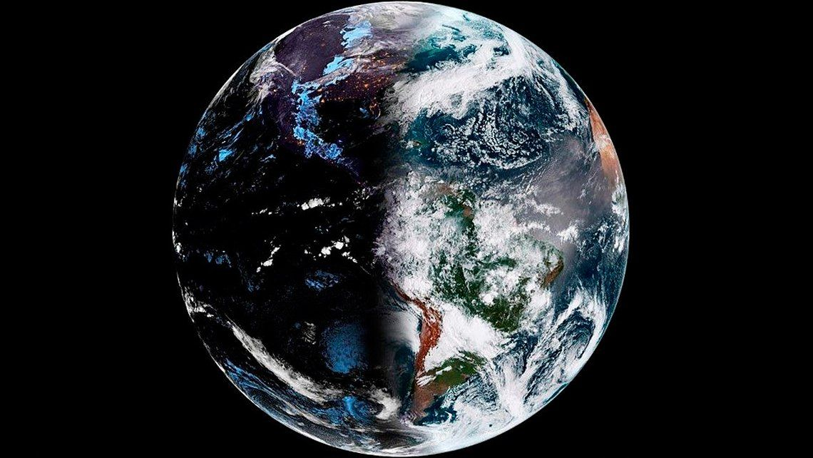 Impactante: así se ve la primavera desde el espacio
