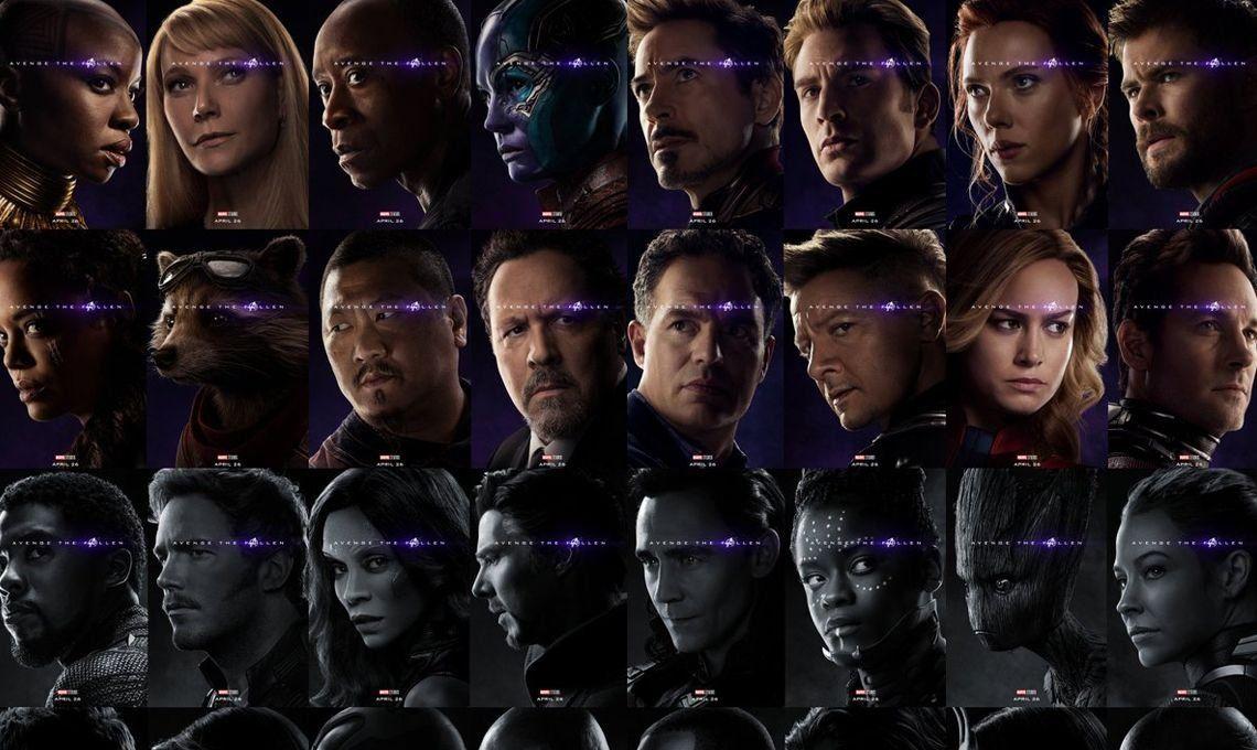 Avengers: Endgame | Marvel presentó los nuevos posters individuales de los personajes
