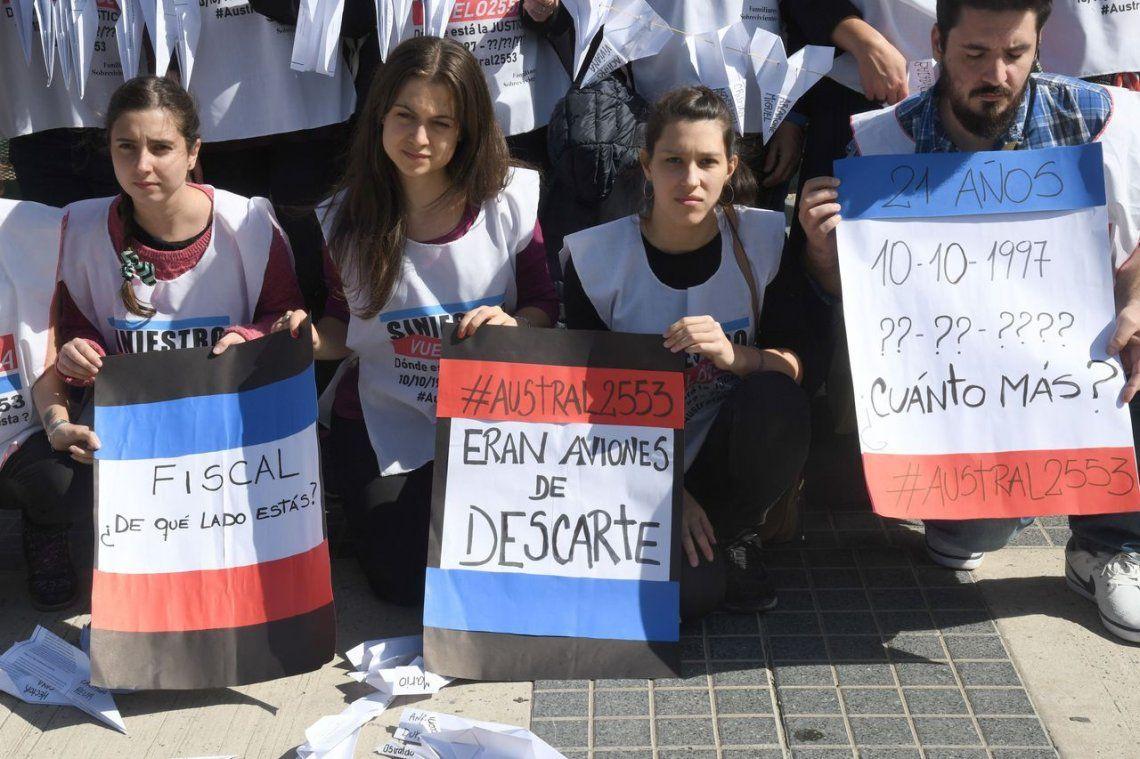 Tragedia de Austral: comenzó el juicio con el reclamo de los familiares