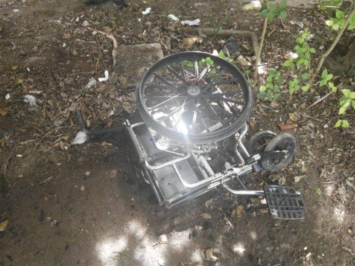 Berazategui: lo acusan de prender fuego a su madre postrada en silla de ruedas