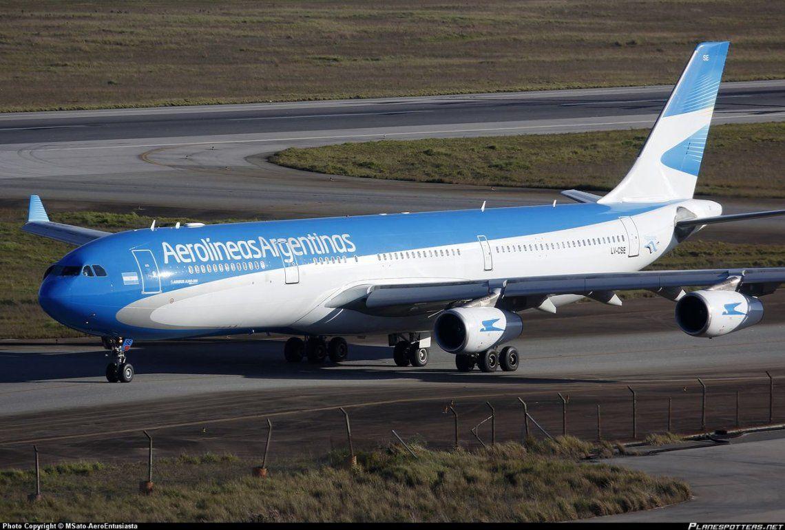 Gremios Aeronáuticos amenazan con un paro en Aerolíneas Argentinas para el viernes y el lunes en demanda de mejoras salariales