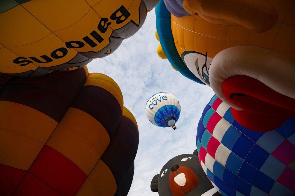 Las mejores fotos de la Fiesta Internacional de Globos Aerostáticos