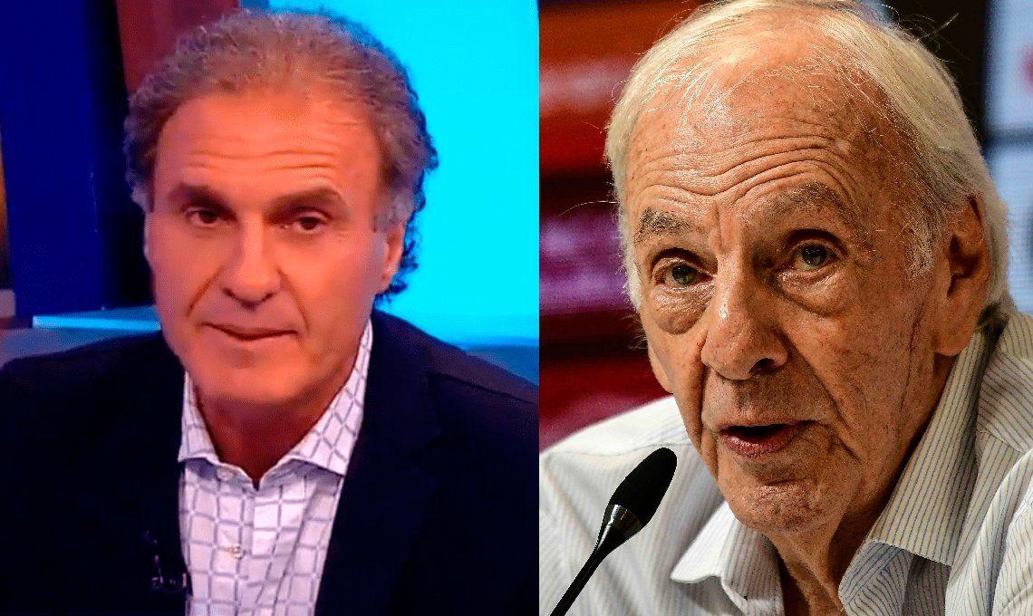 Ruggeri atacó a Menotti: Hablás muy bien, pero andá a laburar