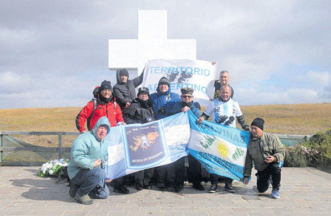 Veteranos de Lomas Zamora fueron detenidos en las Islas Malvinas